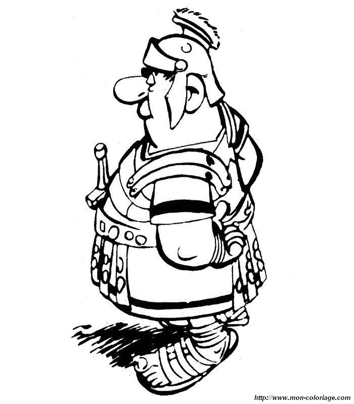 【Plus que 50】 Asterix Et Obelix Coloriage