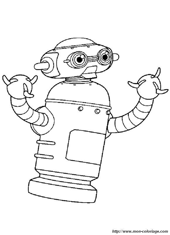 Pin colorions gratuitement astro boy dessin coloriage - Robot coloriage ...