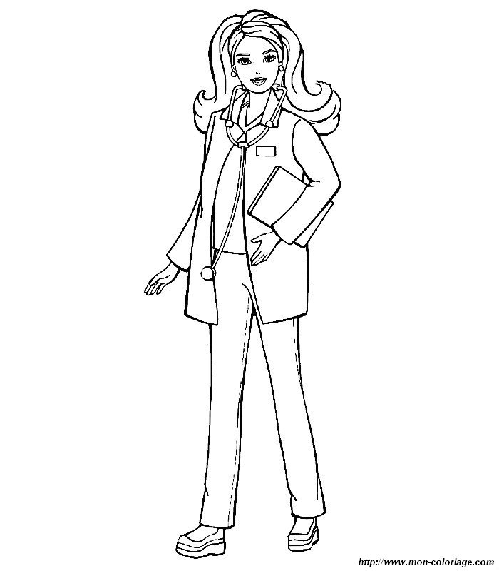 anime doctor coloring pages - photo#2