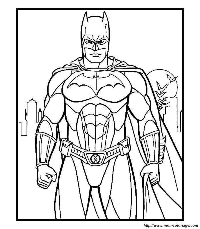 Coloriage de batman dessin 017 colorier - Batman a colorier ...