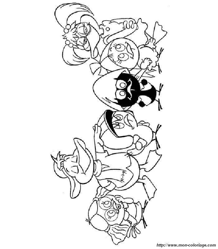 Coloriage de calim ro dessin coloriage calimero colorier - Calimero dessin ...