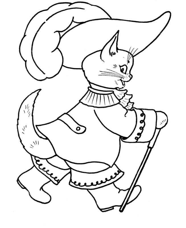 Coloriage de chat dessin le mousquetaire du roi colorier for Le mousquetaire du meuble
