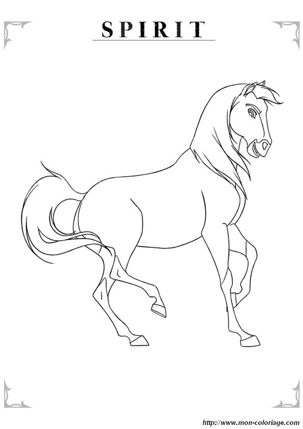 breyer horse coloring pages printable - photo#31