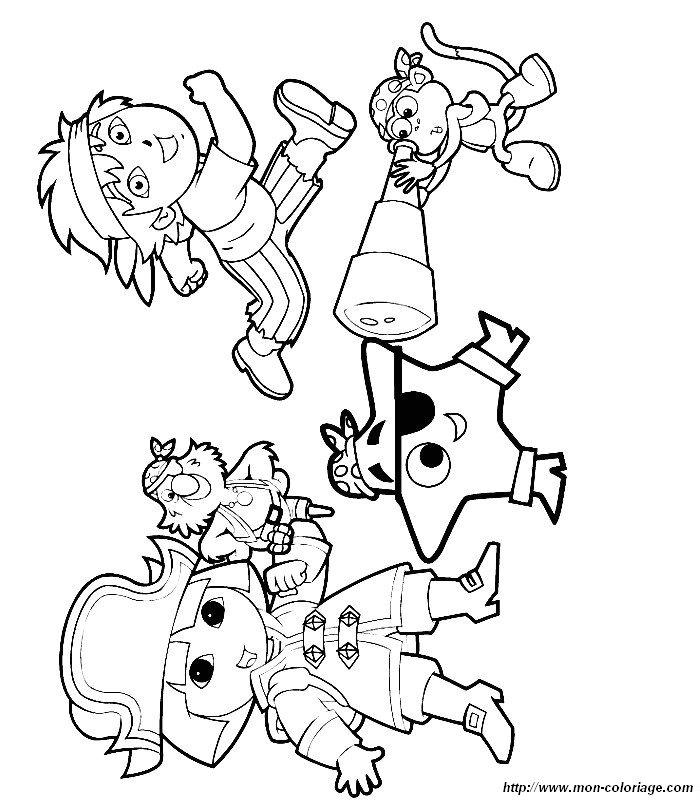 Coloriage de Dora l'exploratrice, dessin dora a colorier à ...