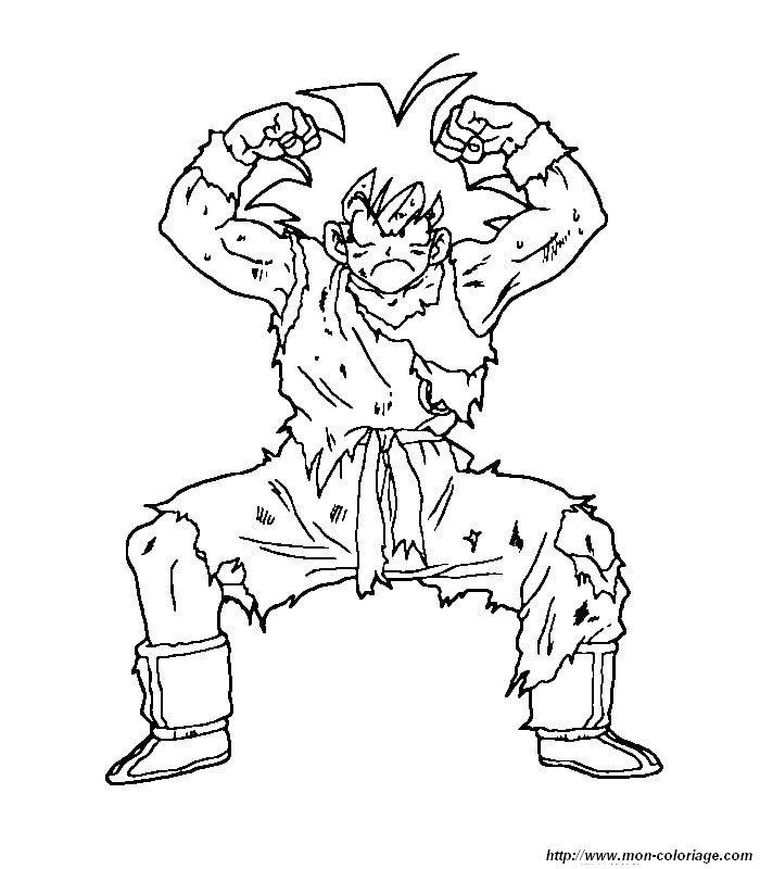 Pintar Dragon Ball Z