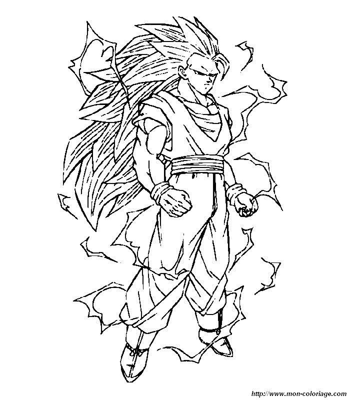 dragon ball z en dessin