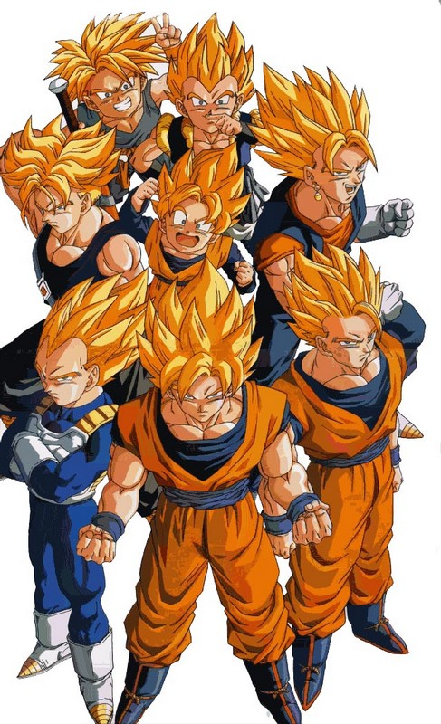 Coloriage de manga dragon ball z dessin dragon ball z - Dessin de dragon ball za imprimer ...