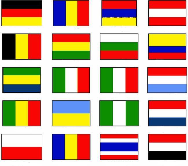 Coloriage de drapeau dessin drapeaux du monde colorier - Dessiner le drapeau anglais ...