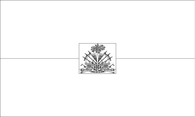 Coloriage de drapeau dessin haiti colorier - Drapeau a colorier ...