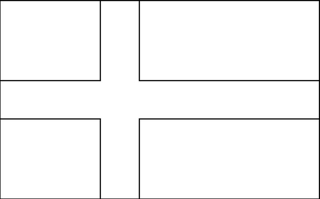 scandinavian flag coloring pages - photo#13
