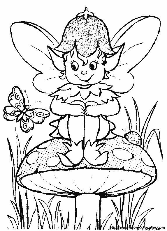 Coloriage de elfe dessin elfe40 colorier - Coloriage elfe ...