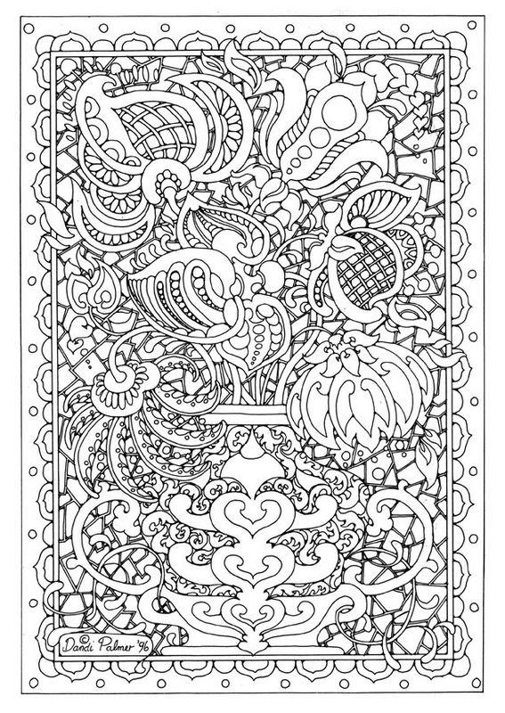 coloriage de fleur  dessin coloriages pour adultes  u00e0 colorier
