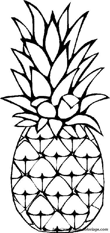 Coloriage de Fruits, dessin mon coloriage fruit à colorier