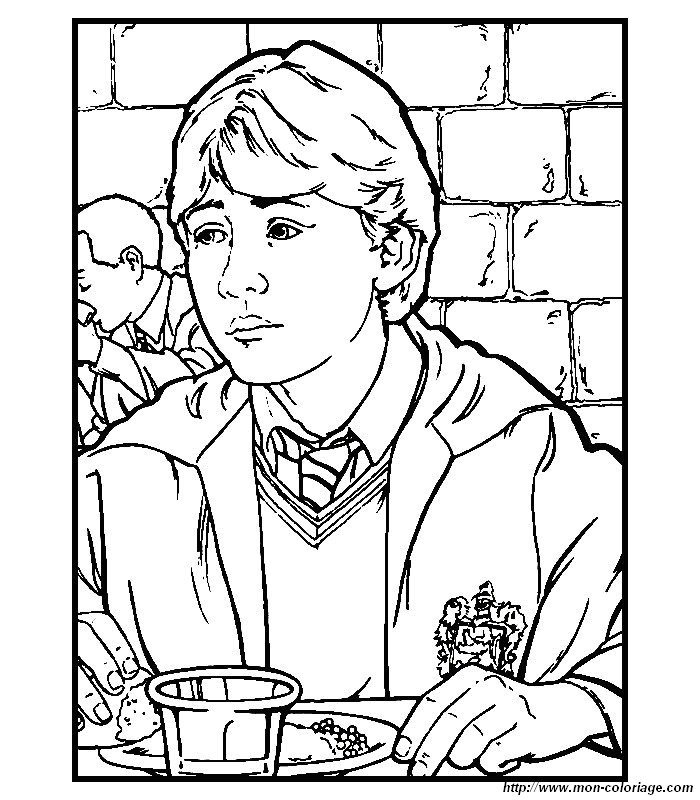 harry potter coloriage