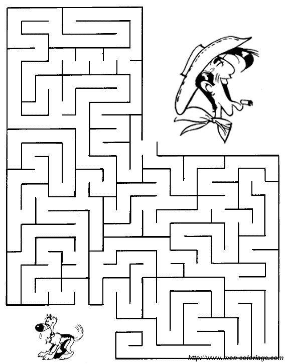 Labyrinthe les petites histoires de sophie - Jeux labyrinthe a imprimer ...