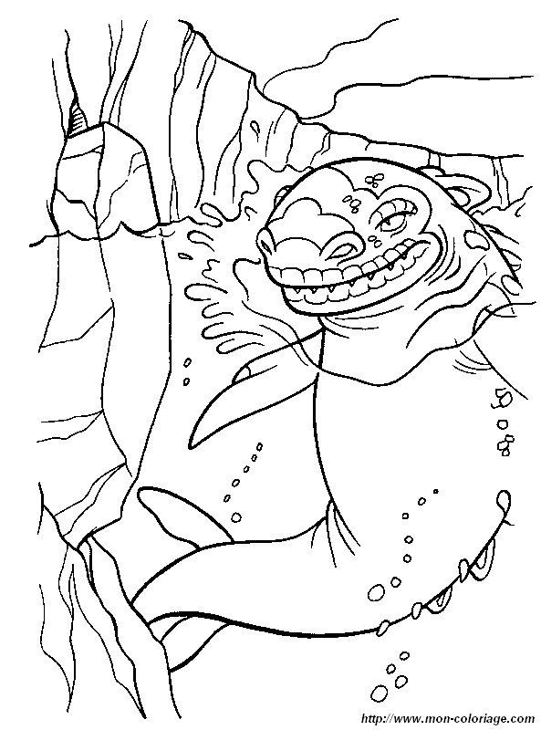 Coloriage de L'age de glace, dessin 2 à colorier