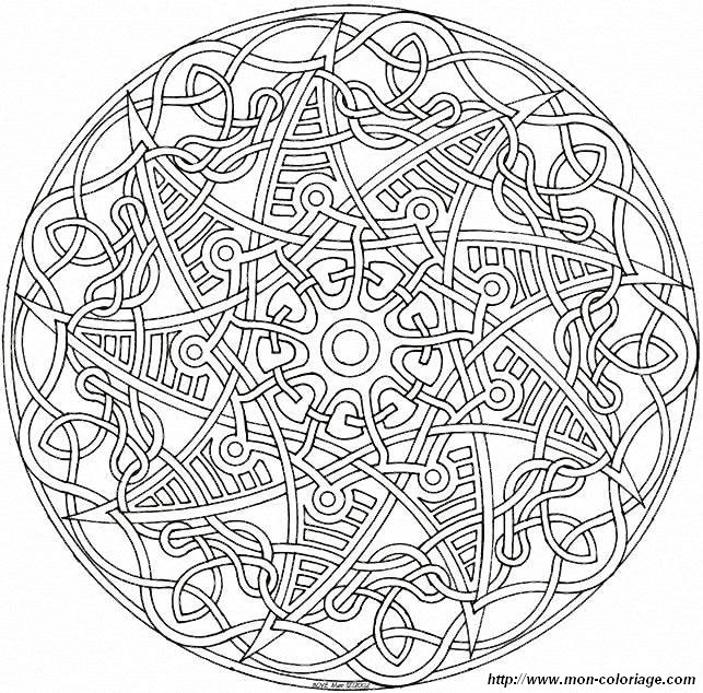 coloriage de mandala dessin mandalas mandalas76a95 008 colorier. Black Bedroom Furniture Sets. Home Design Ideas