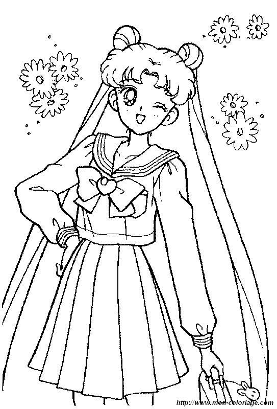 dessin manga sailor moon
