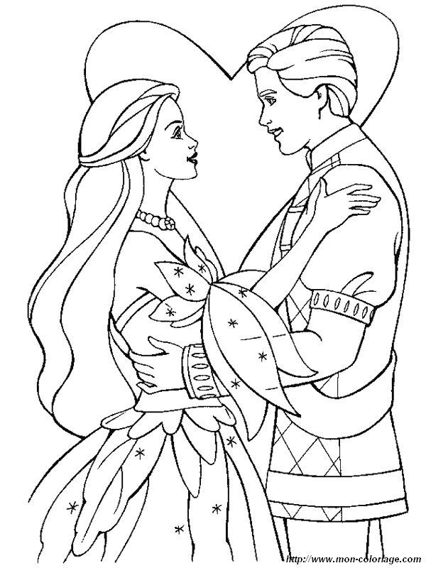 Coloriage de mariage dessin coloriage mariage barbie jpg colorier - Coloriage mariage ...