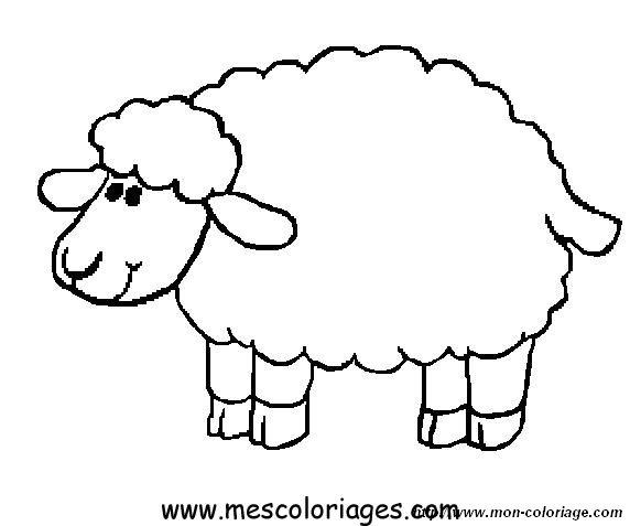 Dessin mouton - Image mouton dessin ...