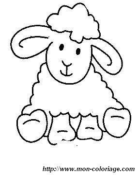 coloriage de mouton dessin 1coloriage mouton colorier. Black Bedroom Furniture Sets. Home Design Ideas