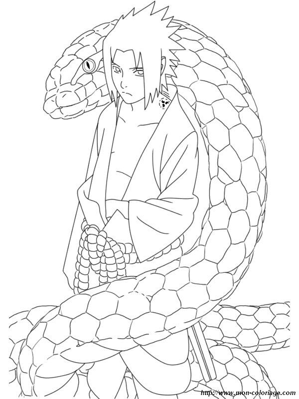 Coloriage de naruto dessin coloriage naruto sasuke colorier - Dessin de naruto a colorier ...