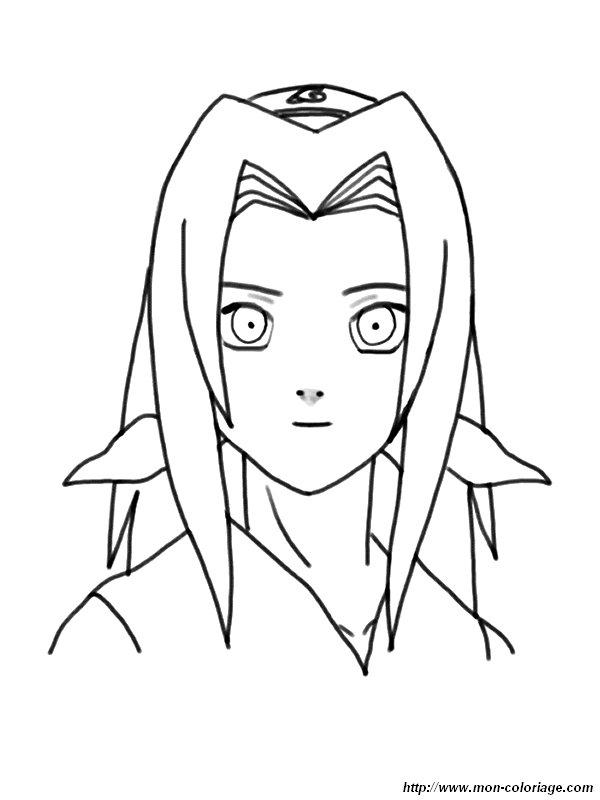 Coloriage de naruto dessin coloriage sakura colorier - Naruto dessin couleur ...