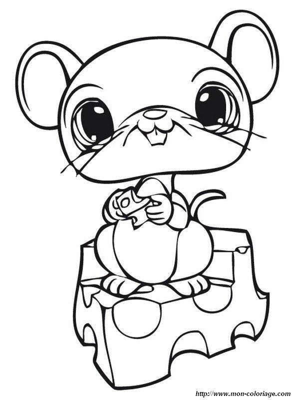 Coloriage petite souris my blog - Dessin petite souris ...