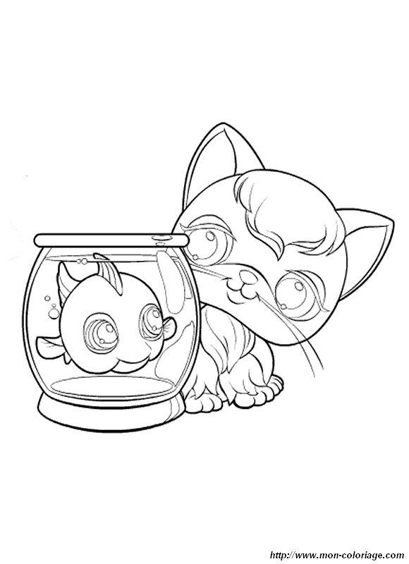 coloriage de petshop dessin coloriage pet shop colorier. Black Bedroom Furniture Sets. Home Design Ideas