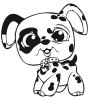 Littlest Pet Shop chien dalmatien