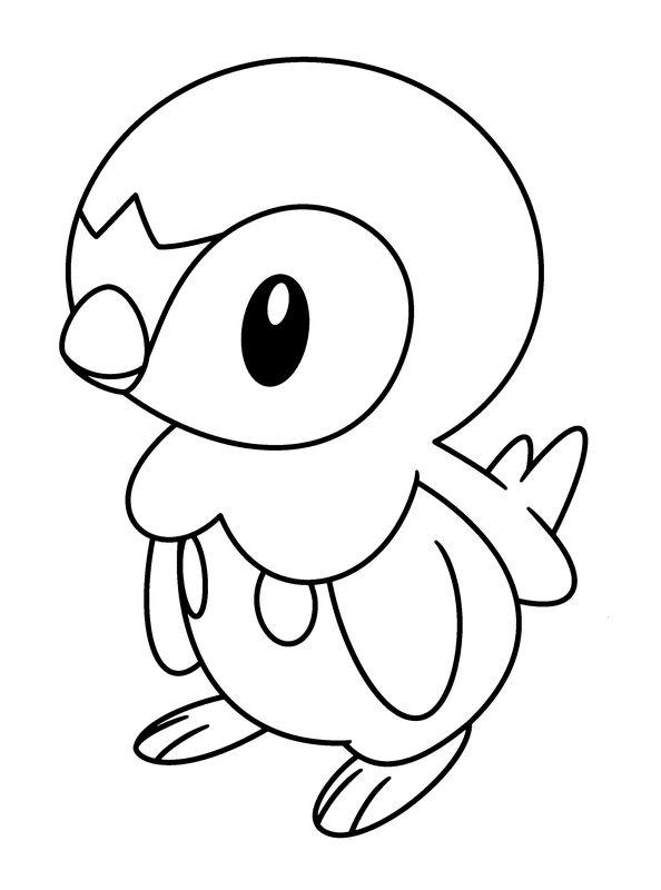 Coloriage de pok mon dessin coloriage du petit oiseau colorier - Image oiseau dessin ...