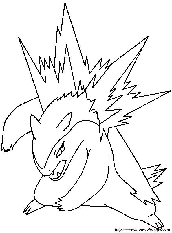 coloriage de pokémon dessin coloriage pokemon 22 à colorier