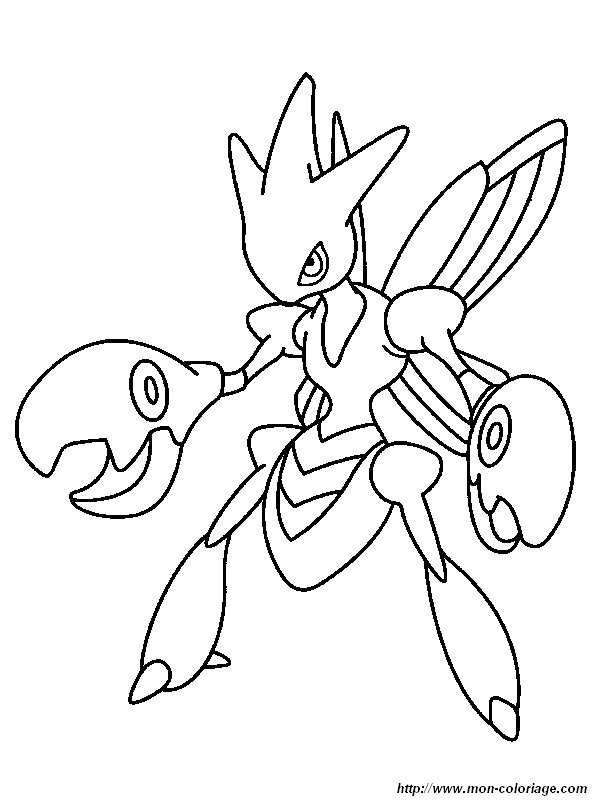 Coloriage De Pokémon Dessin Coloriage Pokemon 6 à Colorier