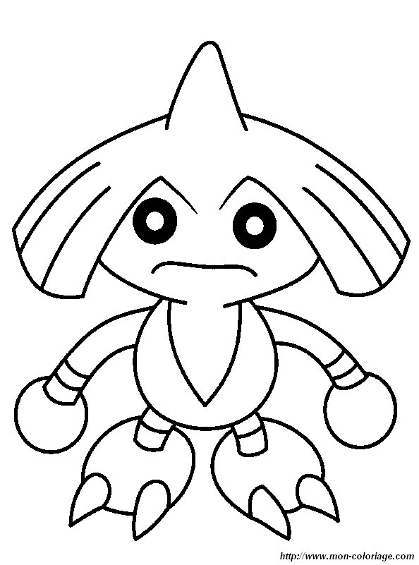 pokemon electabuzz coloring pages - photo #36