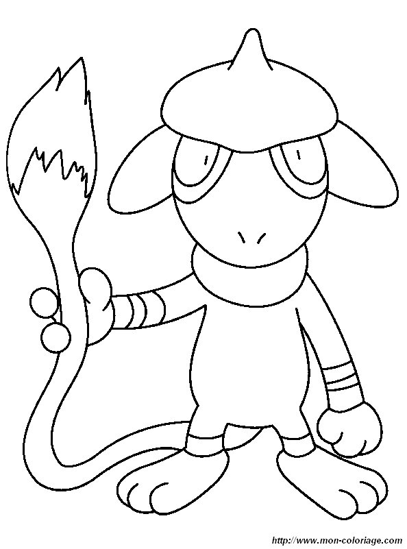 Coloriage De Pokémon Dessin Coloriage Pokemon à Colorier