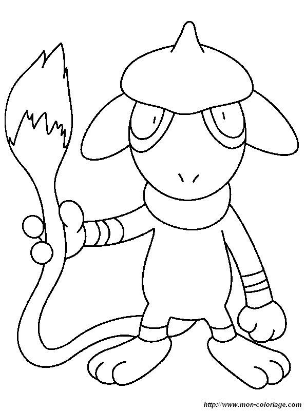 coloriage pokemon