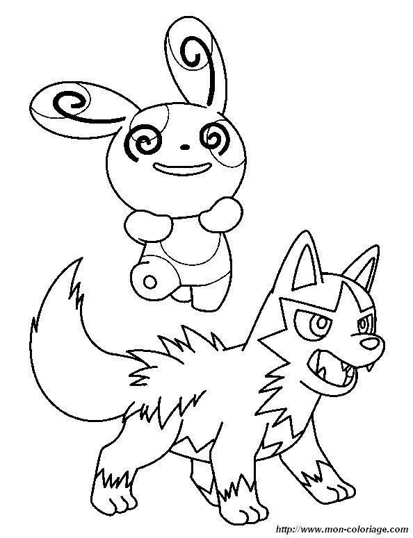 Dessin à Imprimer Pokemon Noir Et Blanc