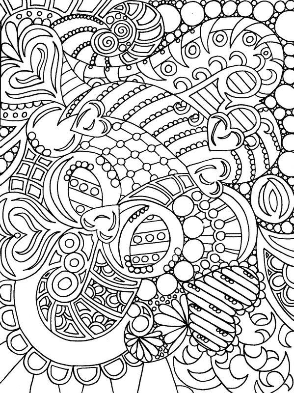 Coloriage de pour adultes dessin coloriage en art - Coloriage art ...