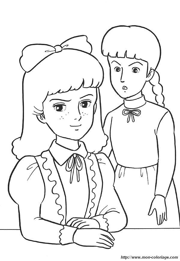 Coloriage de Princesse Sarah, dessin 13 à colorier