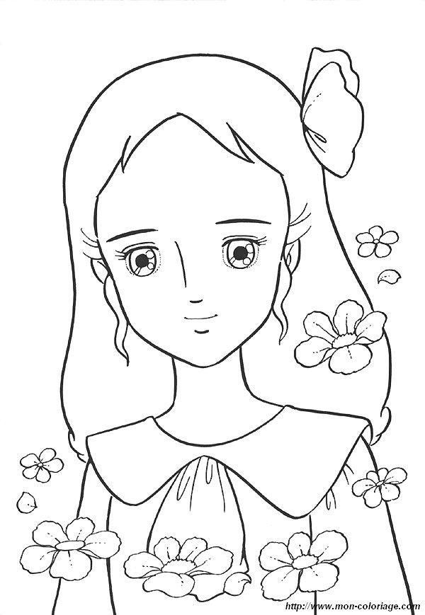 Coloriage de Princesse Sarah, dessin 17 à colorier