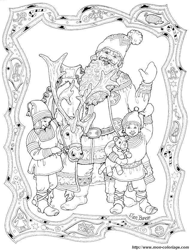 Coloriage De Saint Nicolas Dessin Coloriage Saint Nicolas 16 A Colorier