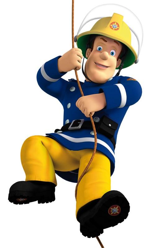 Coloriage de sam le pompier dessin sam pompier colorier - Sam le pompier personnages ...