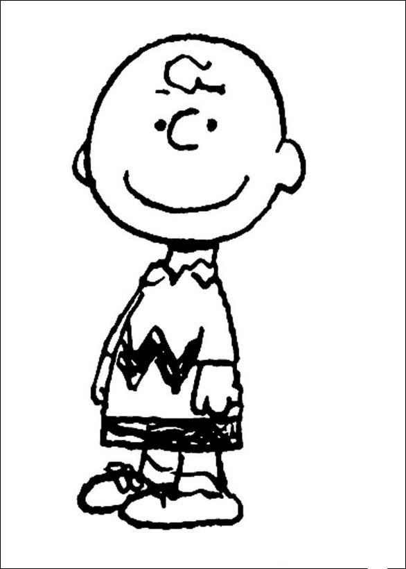 peanuts comics coloring pages - photo#34