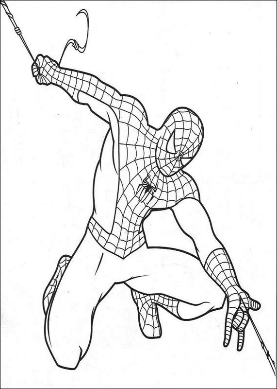 Les beaux coloriages de Spiderman