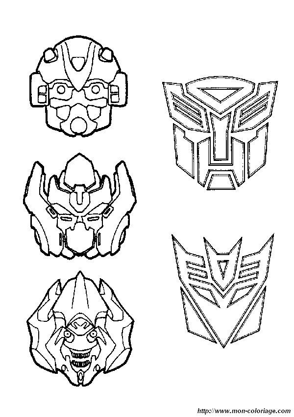 Coloriage de transformer dessin coloriage transformers 16 - Transformers dessin ...