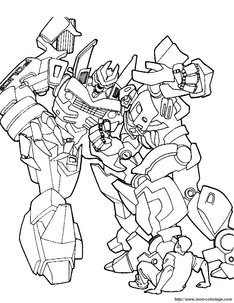 Coloriage de transformer dessin coloriage transformers 2 - Transformers dessin ...