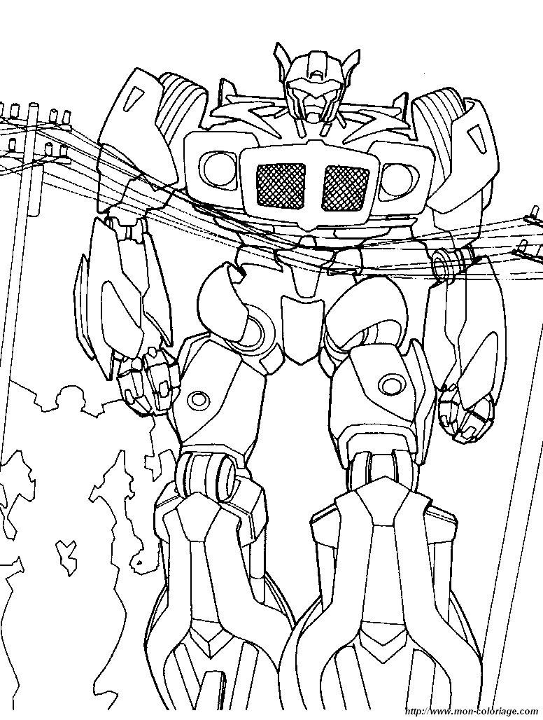 Coloriage De Transformer Dessin Coloriage Transformers 4 A Colorier