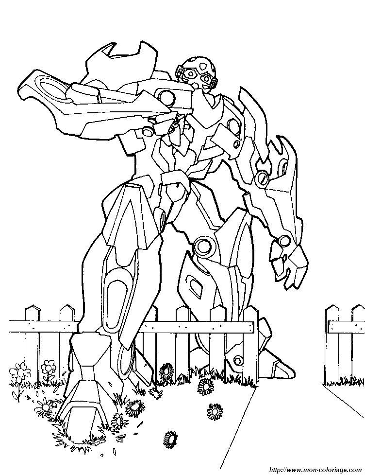 Coloriage En Ligne Transformers.Coloriage De Transformer Dessin Coloriage Transformers 5 A