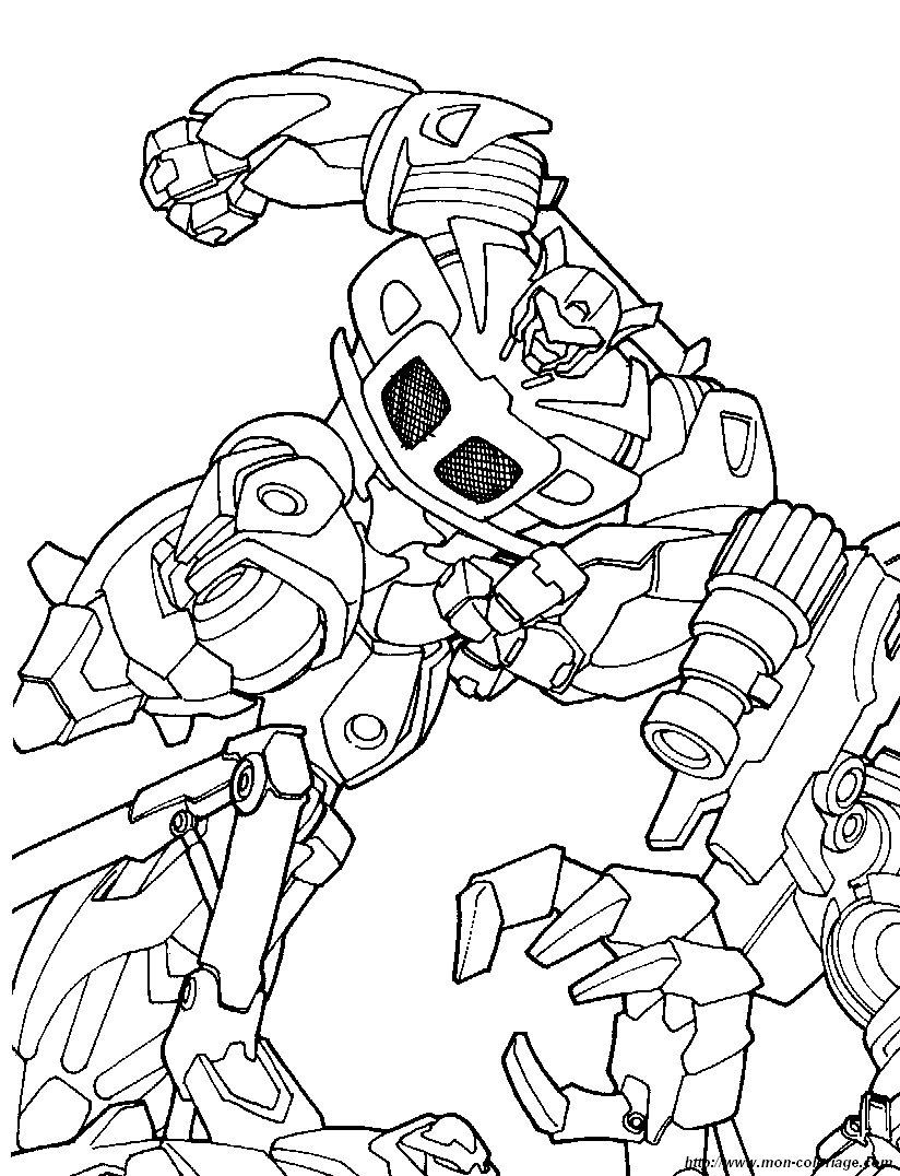 Coloriage de transformer dessin coloriage transformers 6 - Transformers dessin ...