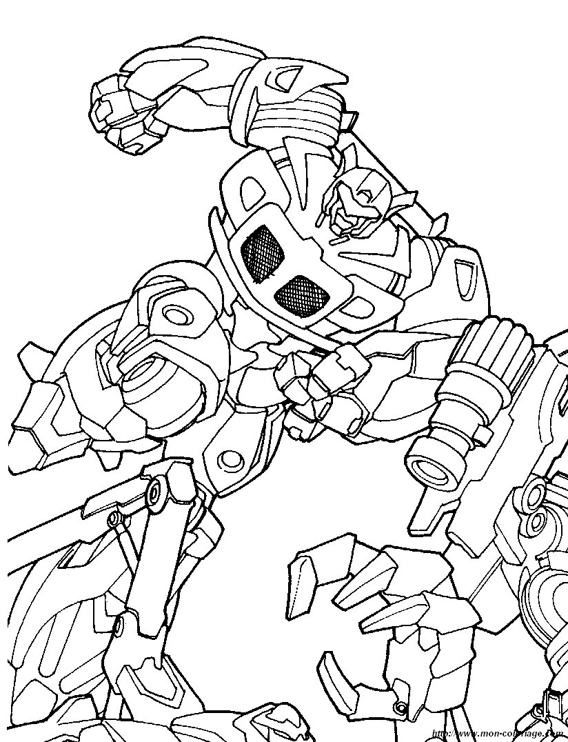 coloriage de transformer dessin coloriage transformers 6 With slidepower